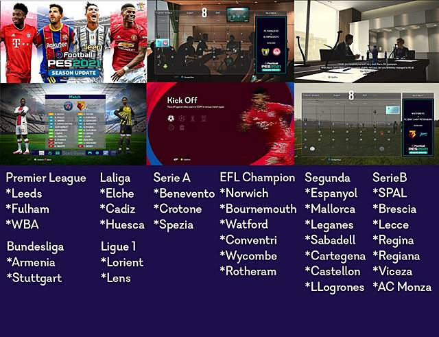Graphic PES 21 to pes13