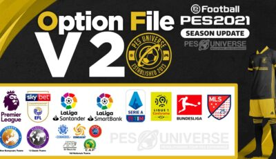 PES 2021 Option File PS4 & PC V2