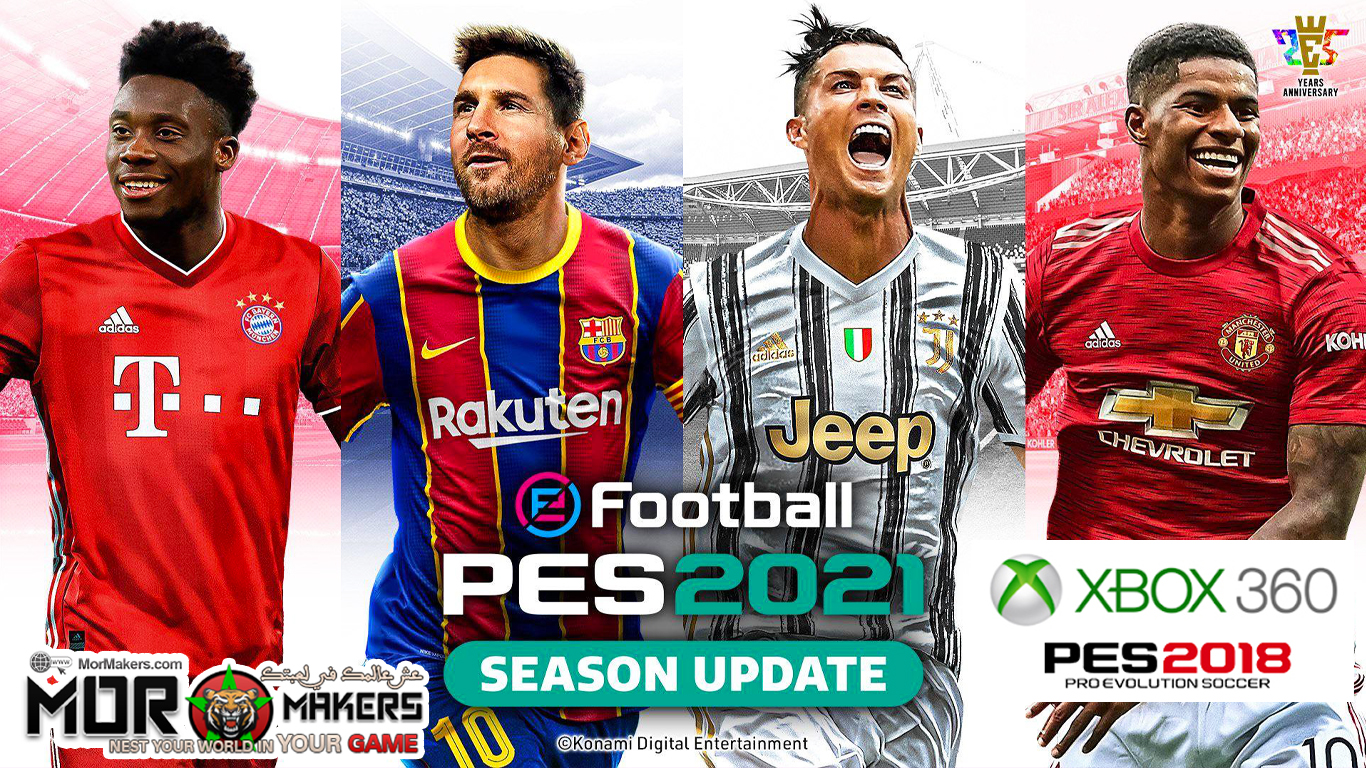 PES 2021 XBOX 360 PATCH