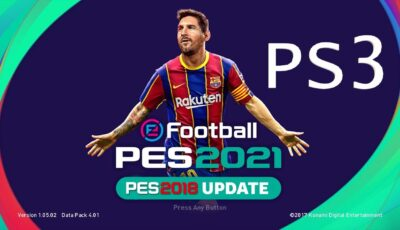 PES 2018 PS3 Option File  2021/2020 V11.1