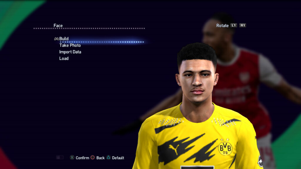 pack Faces Brusia dortmound 2021 pes13