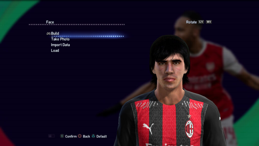 pes13 faces ac milan